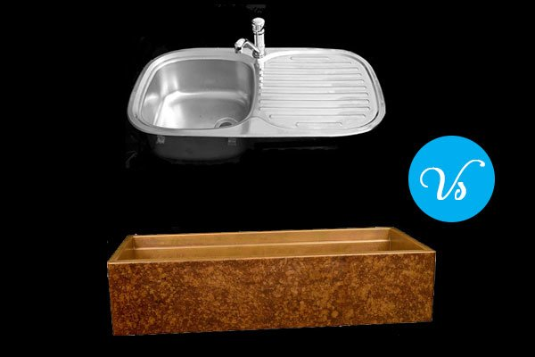 Granite vs Stainless Steel Sink