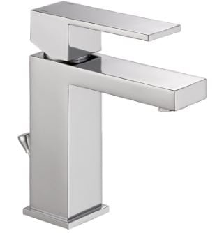 Delta 567LF-PP Single-Handle Bathroom Faucet