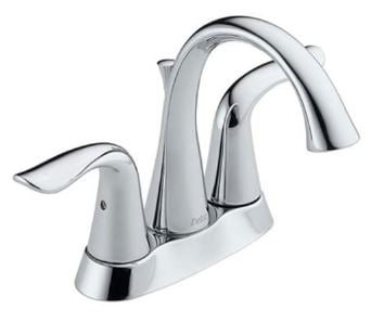 Delta Lahara 2-Handle Centerset Bathroom Faucet