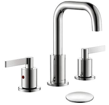 TimeArrow TAF288S-CP 2-Handle Bathroom Sink Faucet