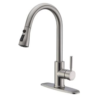 WEWE A1001-02-01-BN single handle kitchen faucet