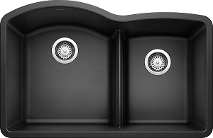 Blanco Anthracite SILGRANIT Double Bowl Sink