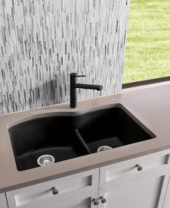 Blanco Anthracite SILGRANIT Double Bowl Sinks