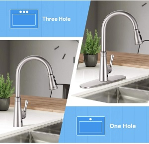 Dalmo DAKF5F Touchless Kitchen Faucet