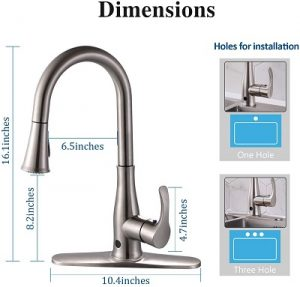 Qomolangma Touchless Kitchen Faucets