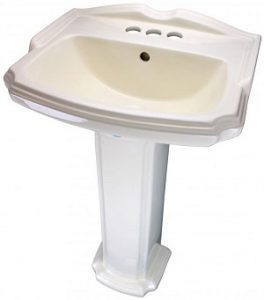 Renovators Supply Rectangular Pedestal Sink