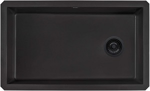 Ruvati RVG2033BK Granite Composite Kitchen Sink
