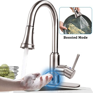 Soosi Touchless Motion Sensor Kitchen Faucet