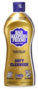 Bar Keepers Friend for Cleaning